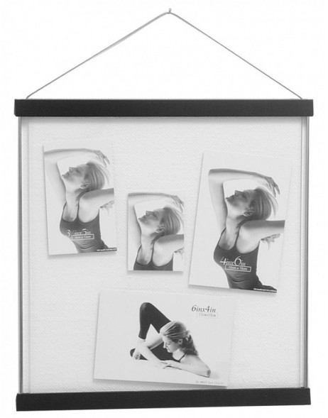 Picture frame Yeola metallic 12x12 - black