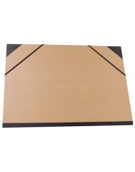 folder for paintings KRAFT brown for A3