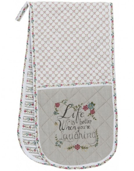 oven glove - Pretty Little Things 20x80 cm
