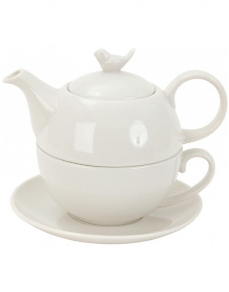 TEA FOR ONE - teapot with cup