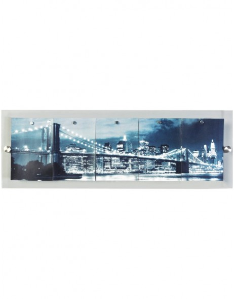 Acrylic frame gallery Skyline for 5 pictures 13x18 cm