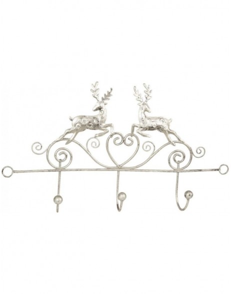 coatrack DEER silver
