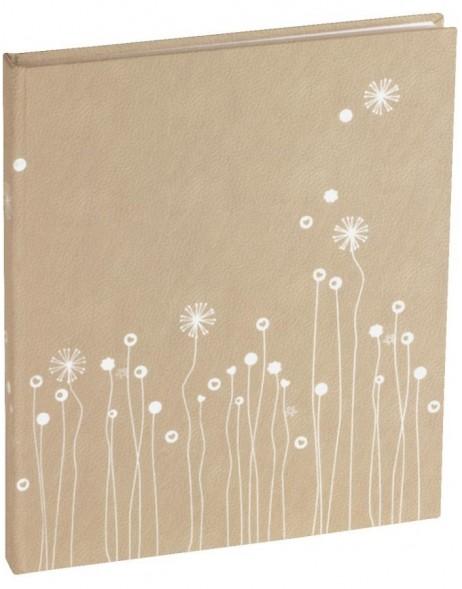 Guest book Lucia with silver edging