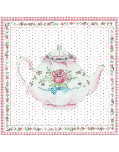 card TEAPOT 6PA0320 by Clayre Eef