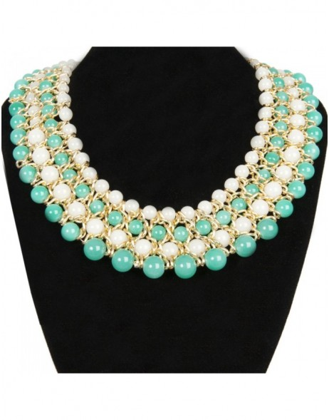 necklace green B0300499 Clayre Eef