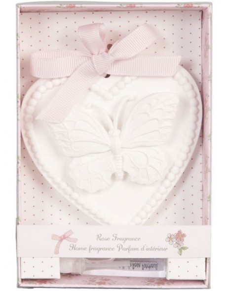 62421B Clayre Eef gift box with fragrance (Rose)