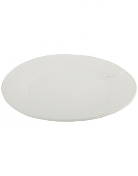 6CE0053 Clayre Eef plate - shabby white