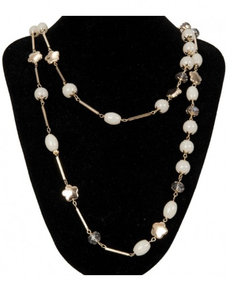 necklace white B0300523 Clayre Eef