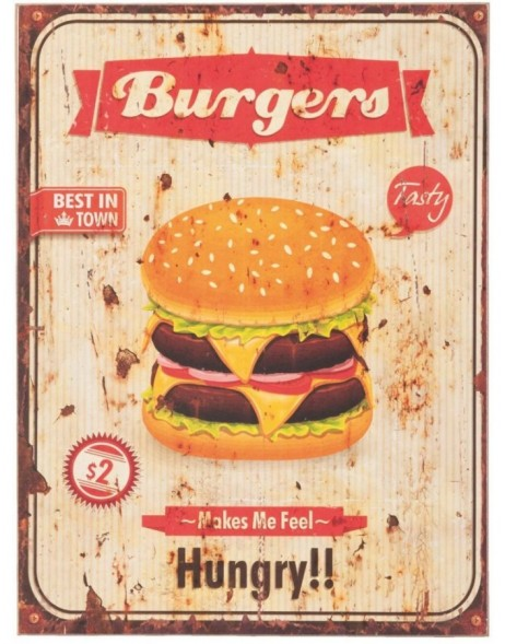 62832 Clayre Eef wall decoration Burgers