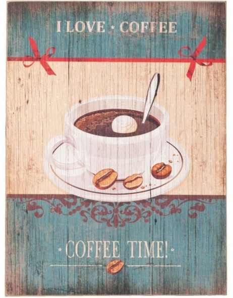 62829 Clayre Eef wall decoration COFFEE