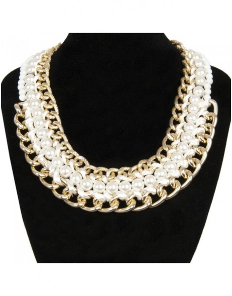 necklace white B0300502 Clayre Eef