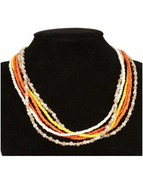 necklace salmon B0300488 Clayre Eef