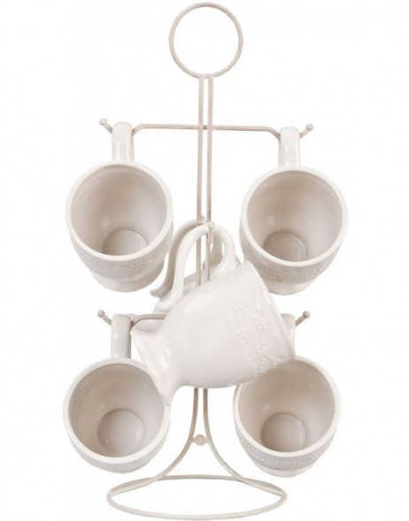 61994 Clayre Eef mugtree with cups