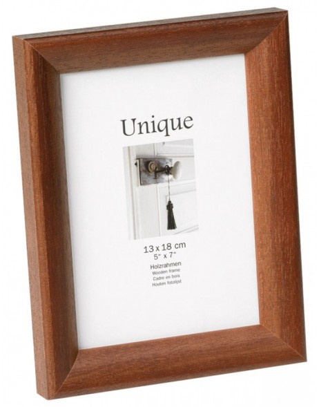 Wooden photo frame - UNIQUE 4 - walnut, 30x40
