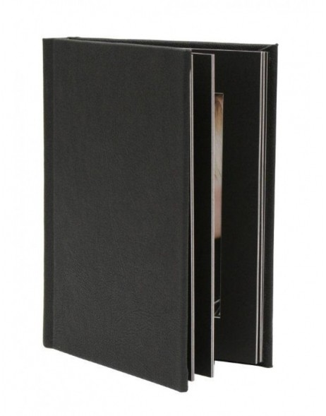 13x18 cm mat-photo album JOLANA black