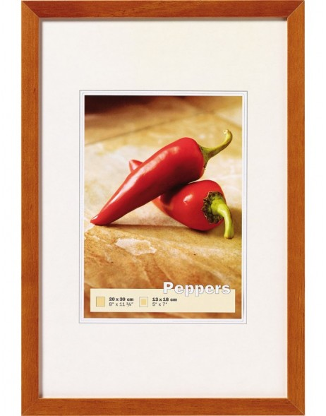 wooden frame PEPPERS