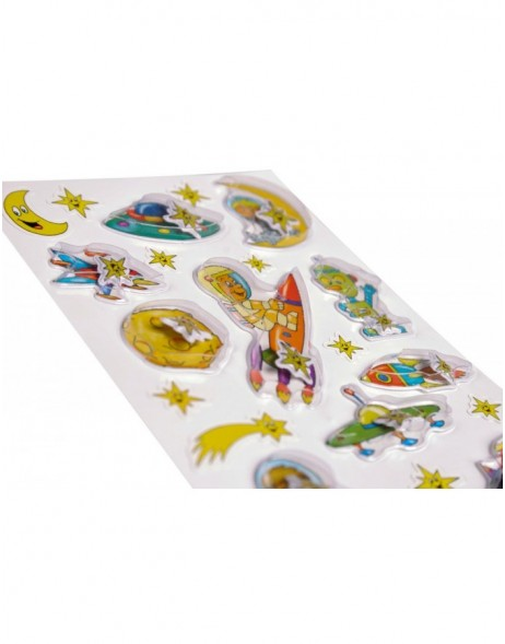 Stickers Astronaut 3D-foil, self adhesive - MAGIC