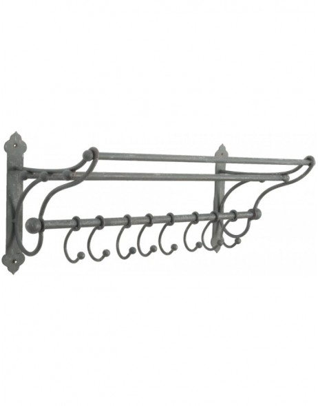 coat rack made of iron 56x22x23 cm
