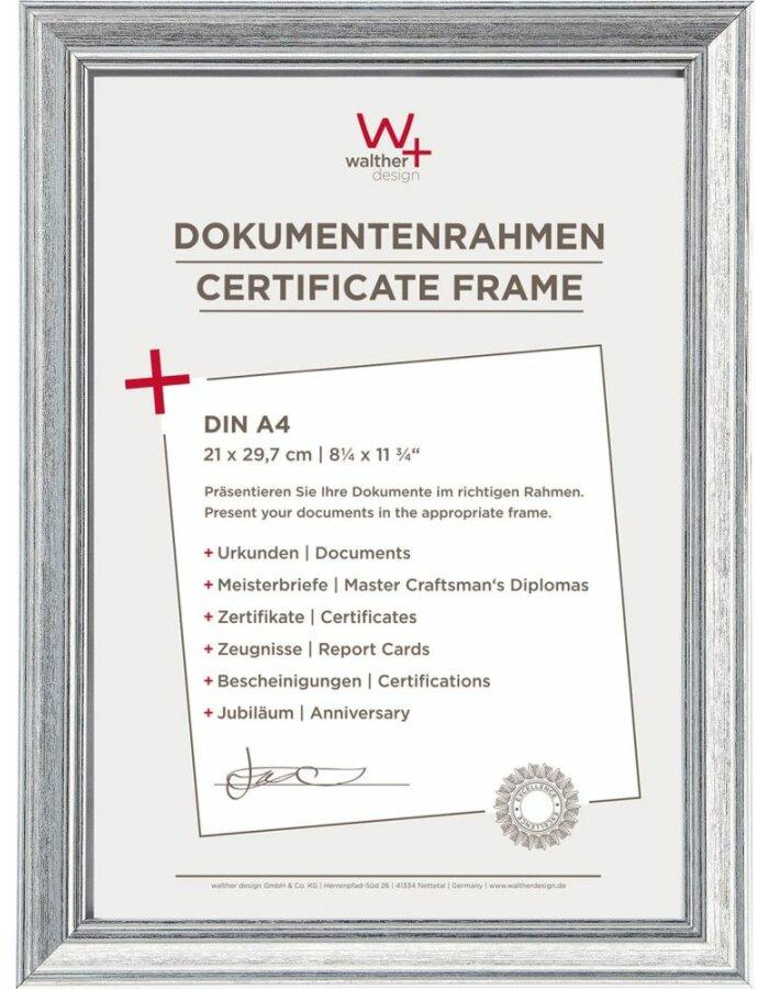 Walther Urkunden Bilderrahmen Lounge A4