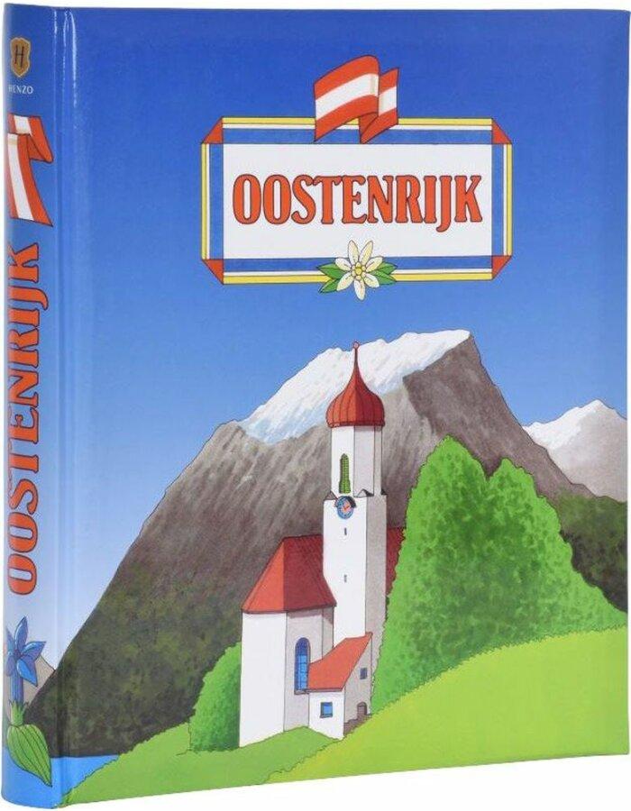 Henzo Henzo Länderalbum Österreich holländisch | fotoalben-discount.de