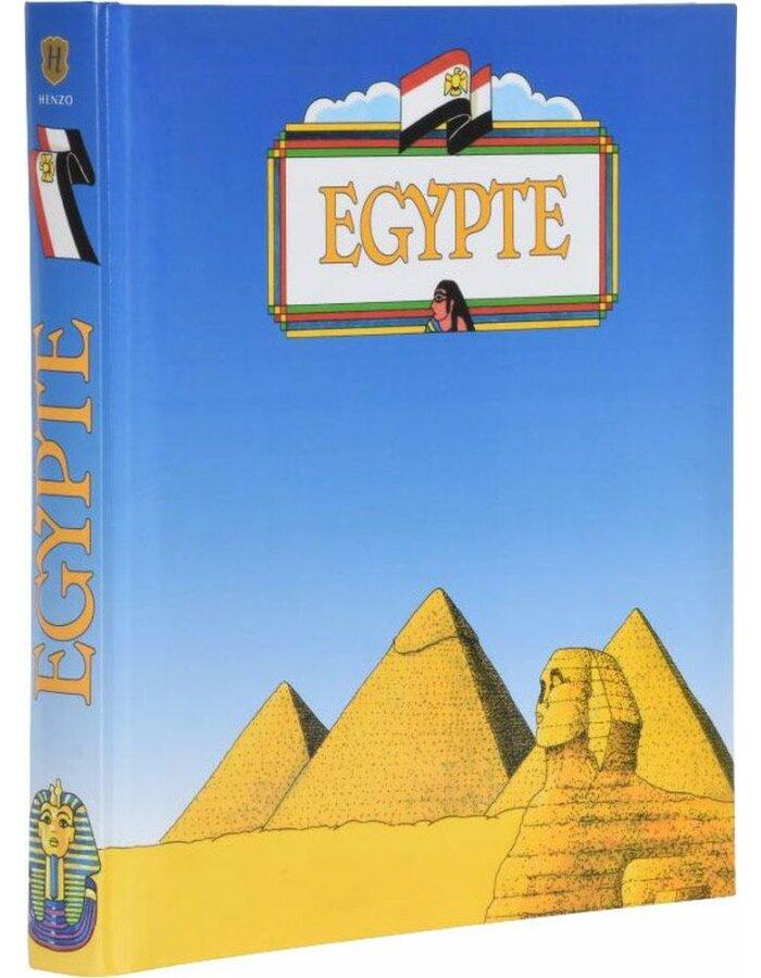 Henzo Henzo Länderalbum Ägypten holländisch | fotoalben-discount.de