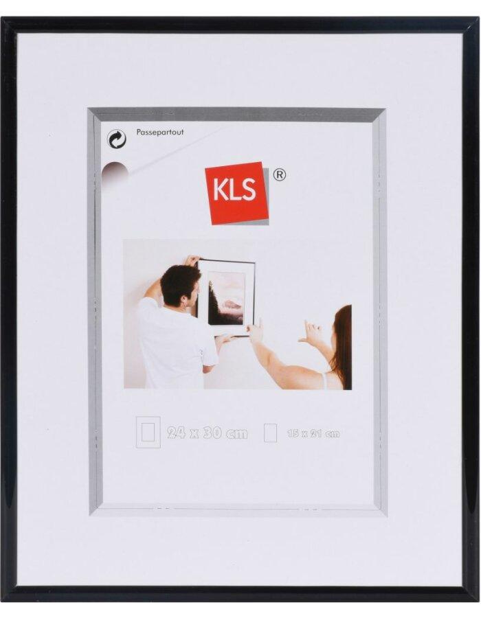 Serie 40 Rahmen schwarz 24x30 cm | fotoalben-discount.de