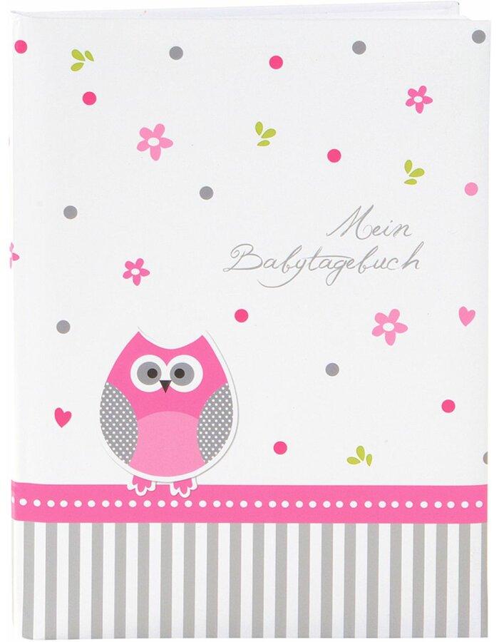 Babytagebuch Babyworld Eule mit Ihrem Wunschtext
