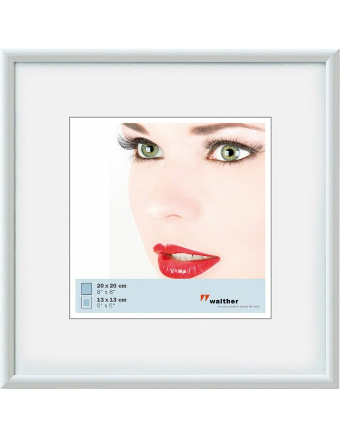 Walther Galeria Bilderrahmen 30x30 cm weiß | fotoalben-discount.de