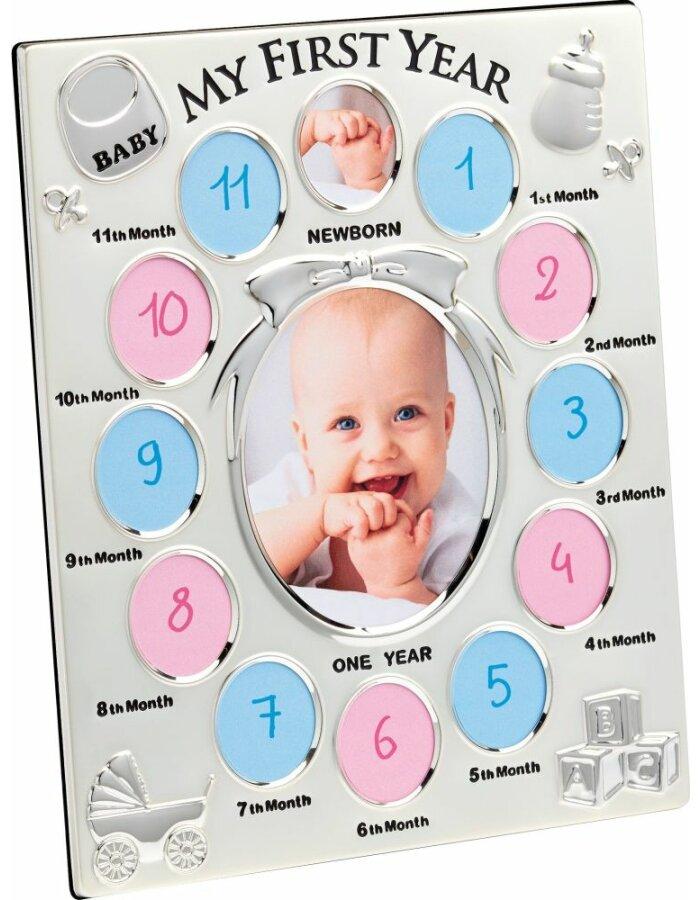 Babyrahmen Mein Erstes Jahr 13 Fotos   fotoalben-discount.de