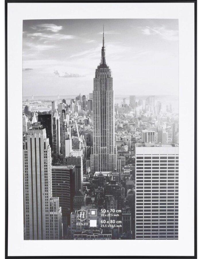 Henzo Rahmen Manhattan 60x80 cm schwarz | fotoalben-discount.de