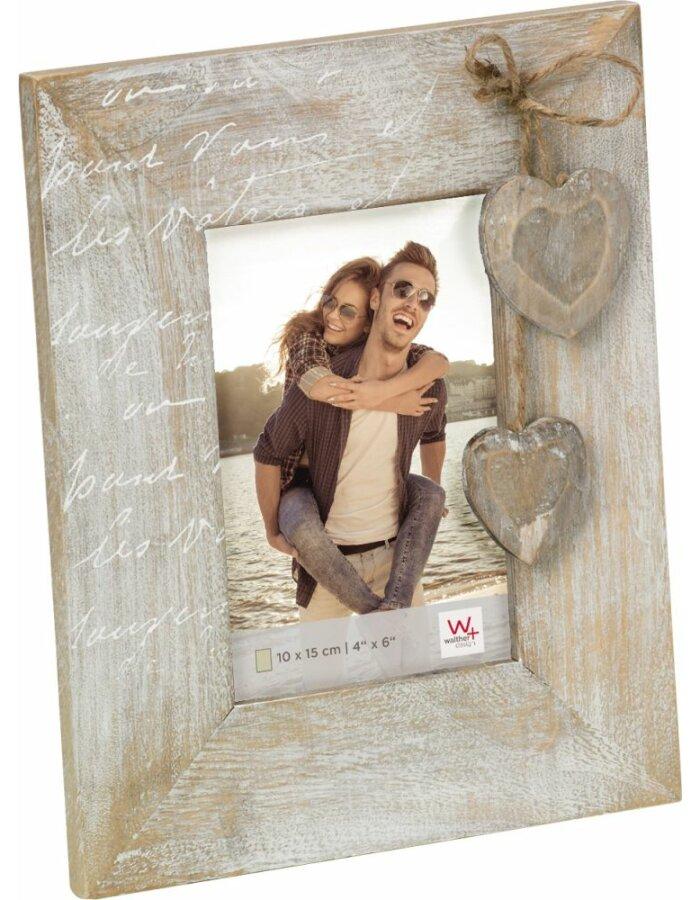Walther Bilderrahmen Le Coeur Holz 10x15 cm | fotoalben-discount.de