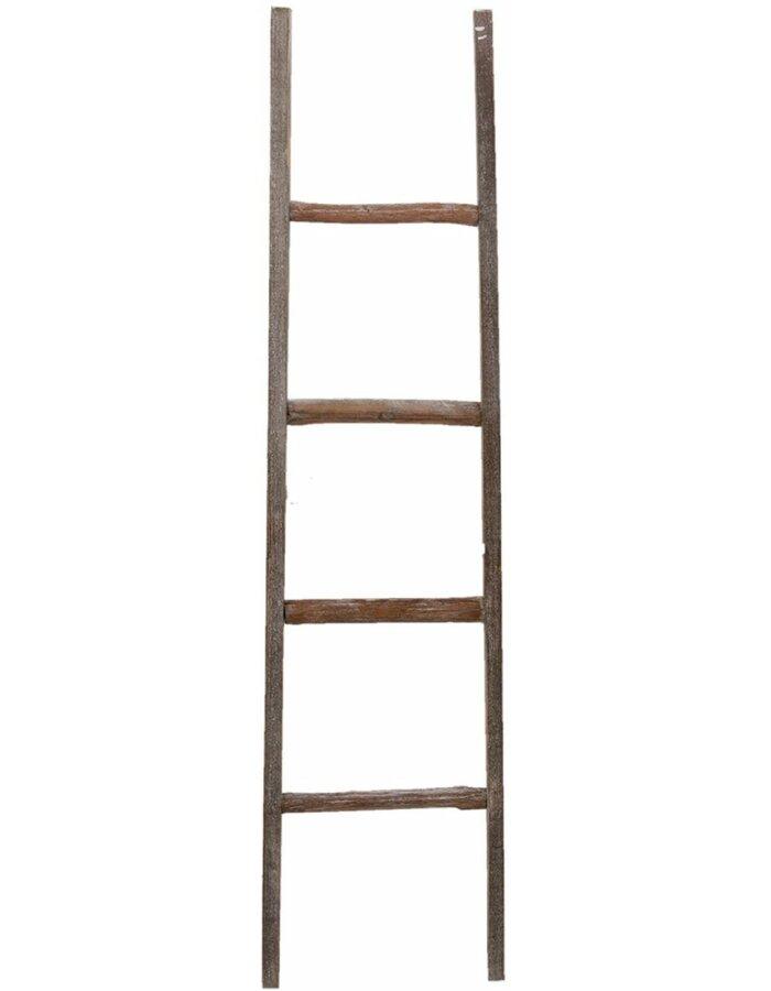 50178 Clayre Eef Deko Leiter Zur Dekoration Aus Holz
