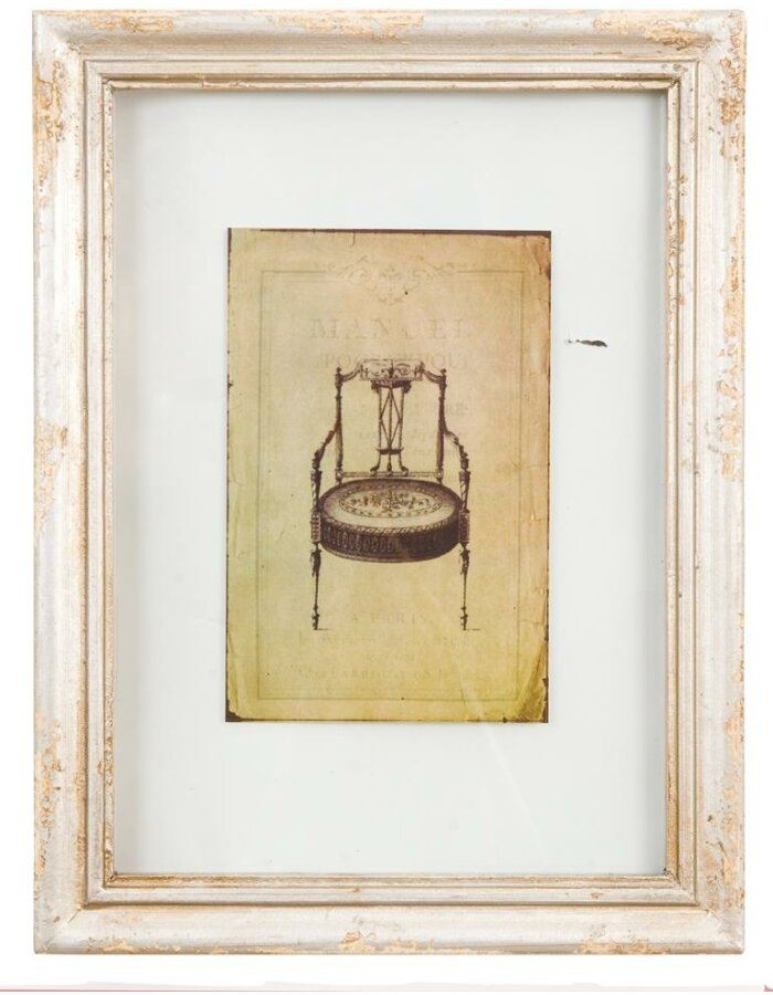 Clayre Eef 2888 antiker Holz Rahmen 25x33 cm | fotoalben-discount.de