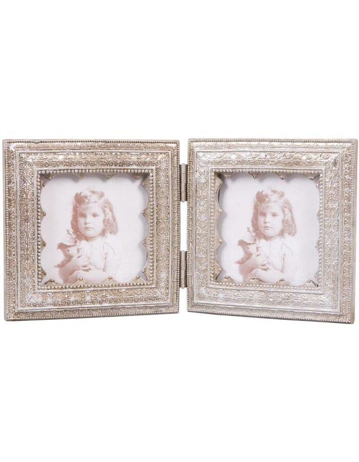 Clayre Eef 2896 Rahmen für mehrere Bilder Galerie 2x 8x8 cm ...