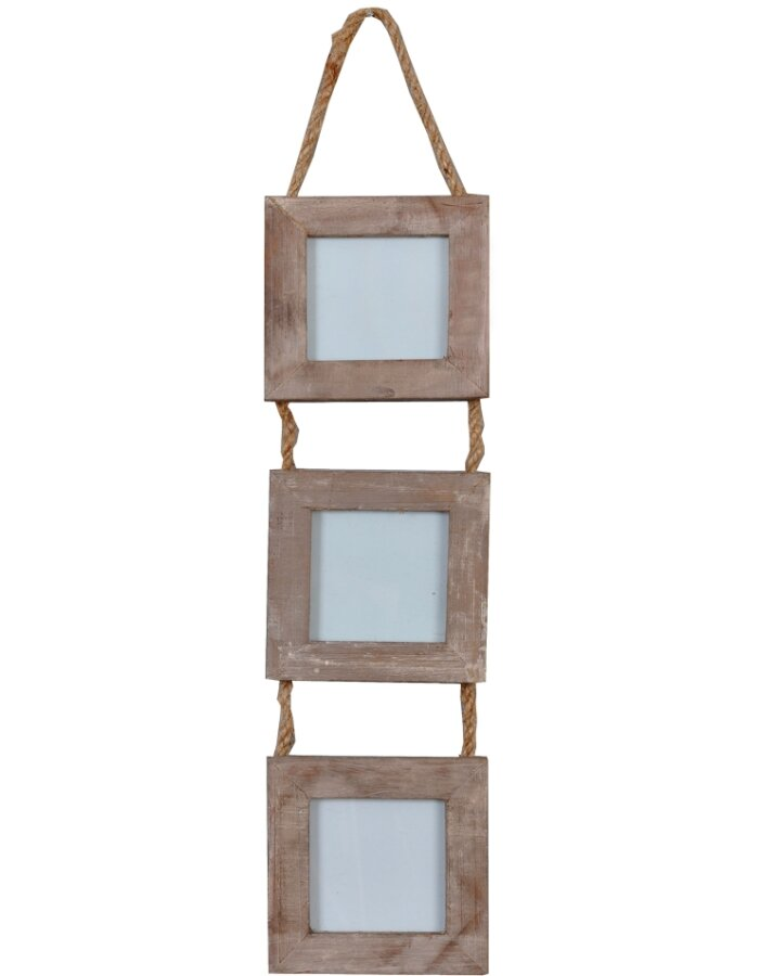 Clayre Eef 2924 barocke Rahmen Galerie für 3 Fotos 6x6 cm ...