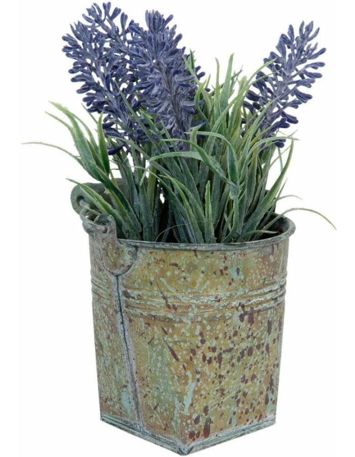 Lavendel-Topf - 6PL0188 9x17 cm von Clayre & Eef