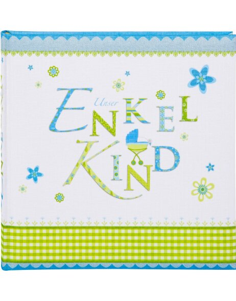 Lovely Enkelkindalbum blau