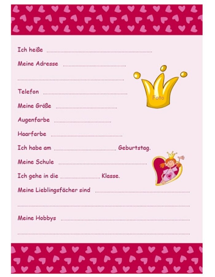 Freundebuch A5 Sigikid PINKY QUEENY