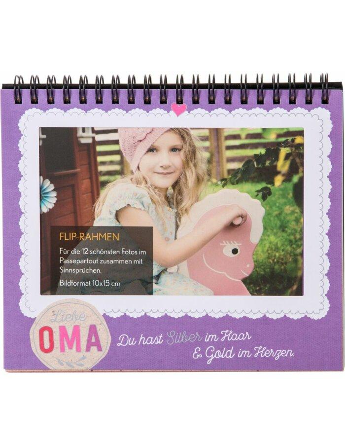 46 006 Goldbuch Fotoringbuch für Omas für 12 Fotos
