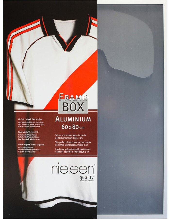Frame Box II T-Shirt Rahmen 60x80 cm silber
