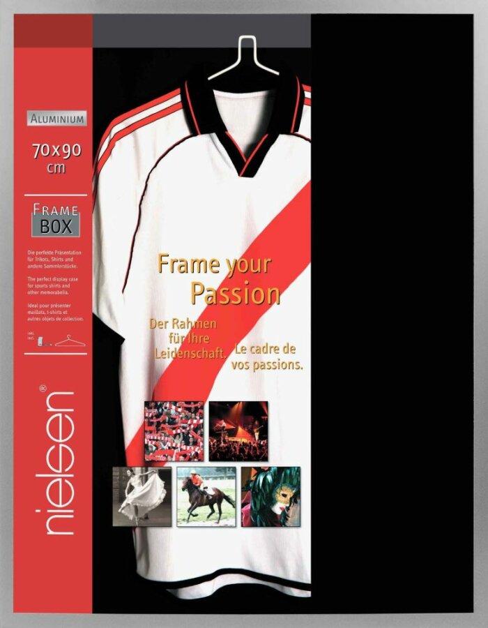 Acrylglas T-Shirt Rahmen 70x90 cm silber | fotoalben-discount.de