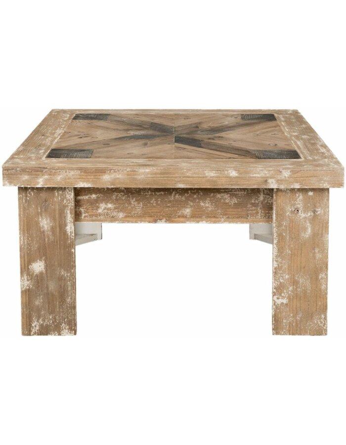 90x90 Cm Couchtisch Shabby Aus Holz 5h0354 Clayre Eef