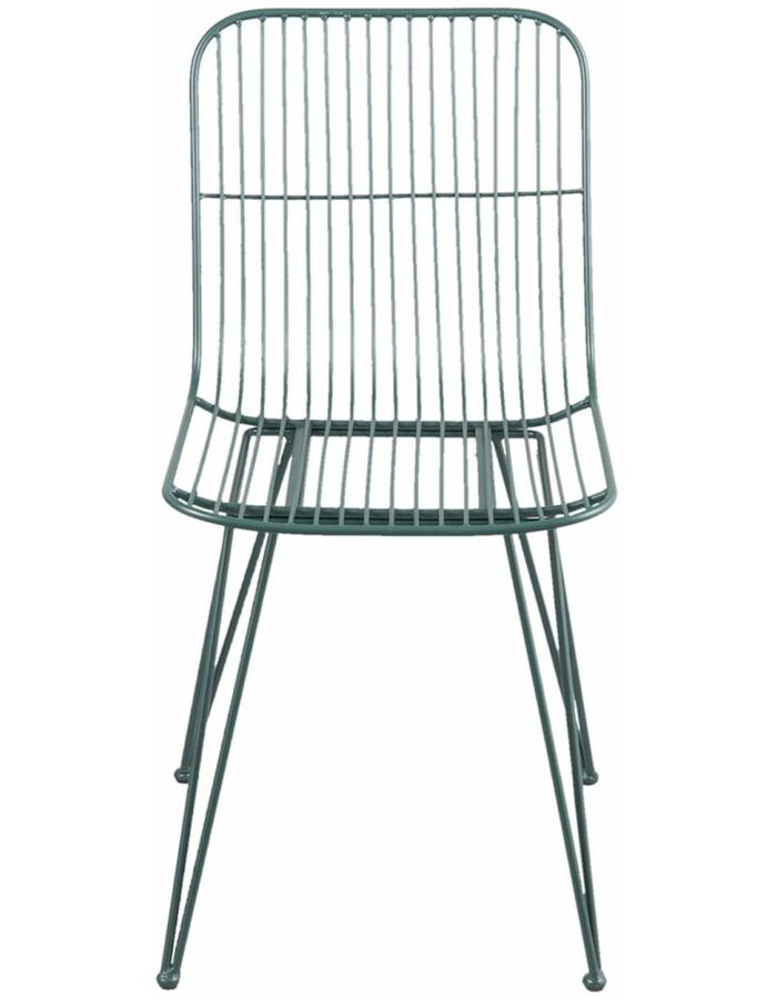 Clayre Eef Stuhl Grün Blau 52x55x83 Cm