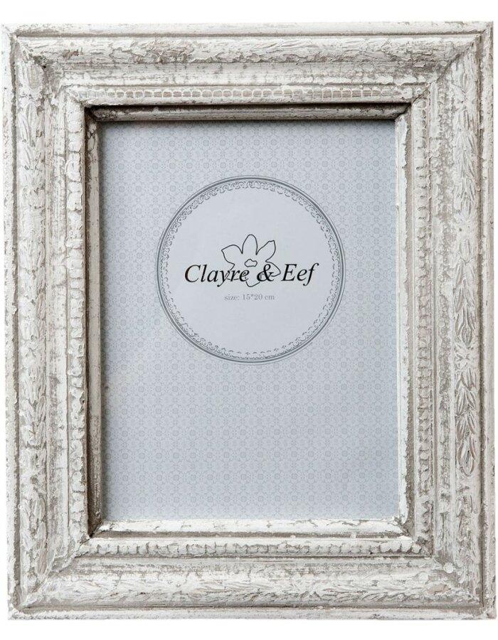 Fotorahmen 14x19 cm - 2F0331 Clayre Eef in weiß