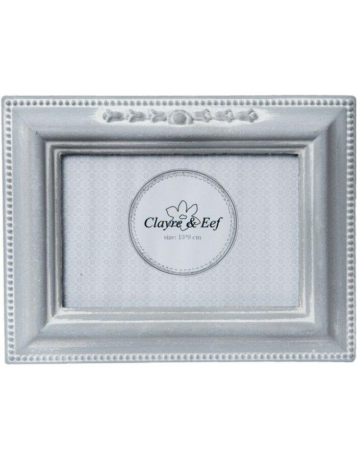 Fotorahmen 12x8 cm - 2F0408 Clayre Eef in grau