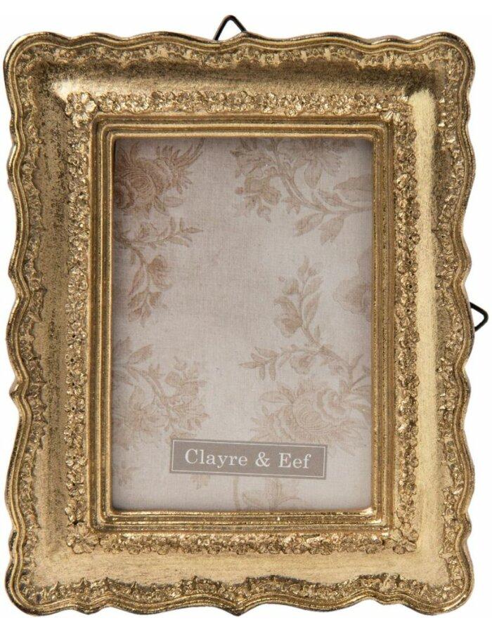 Fotorahmen 6x8 cm - 2F0435 Clayre Eef in gold