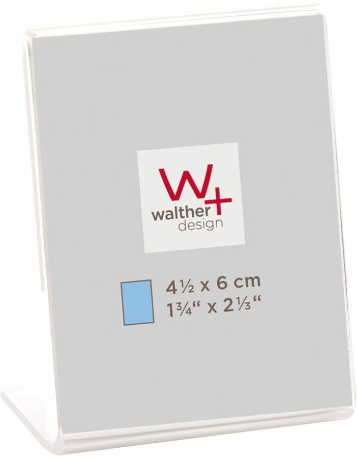 Walther Mini-Acryl-Bilderrahmen Hochformat | fotoalben-discount.de