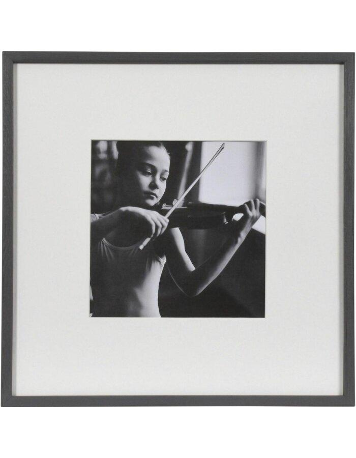 Henzo Viola Holzrahmen 30x30 cm dunkelgrau | fotoalben-discount.de