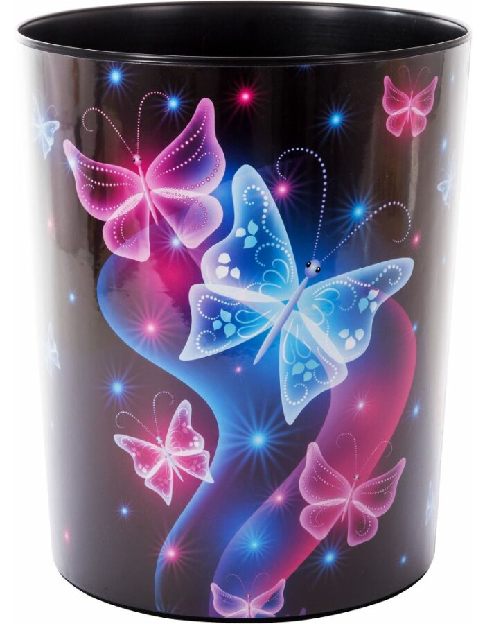 Papierkorb Schmetterling