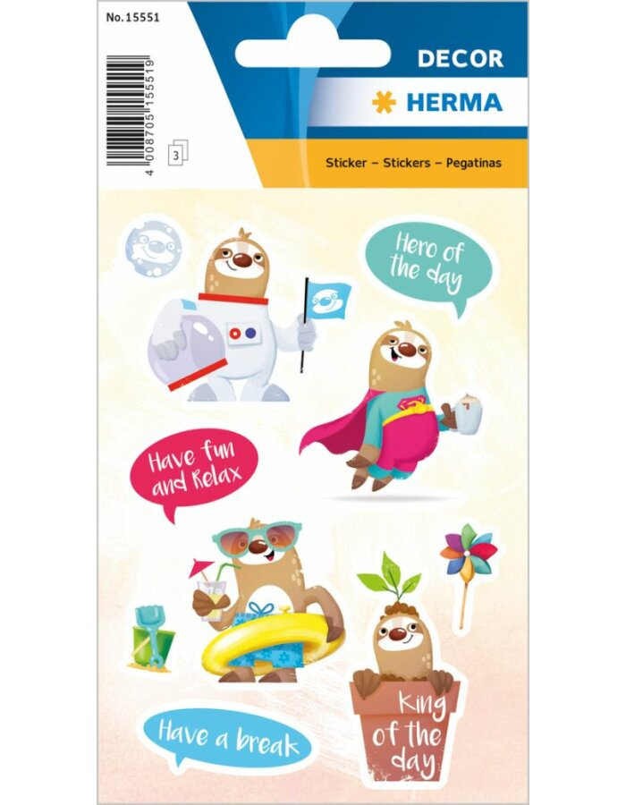 Herma DECOR Sticker Kasimir - the King of the day